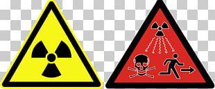 Ionizing Radiation Hazard Symbol Radioactive Decay Radiation Exposure PNG