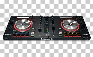 DJ Controller Numark Industries Audio Mixers Disc Jockey PNG