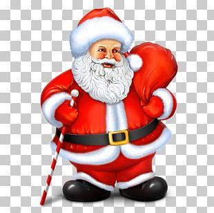 Fictional Character Christmas Ornament Santa Claus PNG