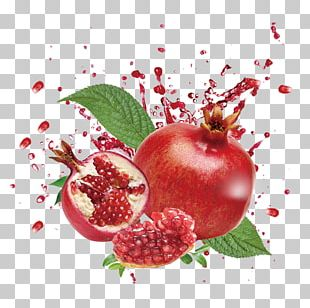Juice Pomegranate Fruit Food PNG