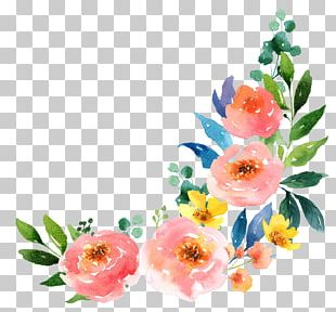 Paper Watercolour Flowers Watercolor Painting PNG