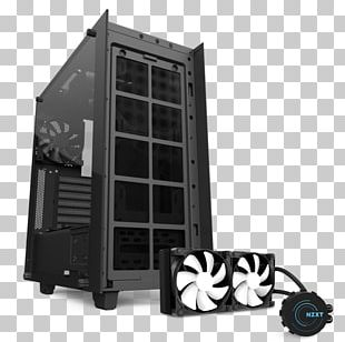 Computer Cases & Housings Power Supply Unit Nzxt ATX Personal Computer PNG