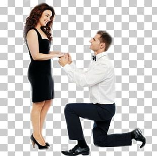 Marriage Proposal Woman Girlfriend Stock Photography PNG