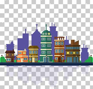 City Building Background PNG