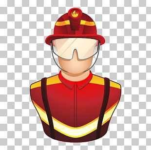 Firefighter Euclidean Icon PNG