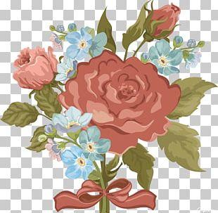 Flower Vintage Clothing Pattern PNG