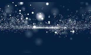White Dream Particles Shuttle Spread PNG