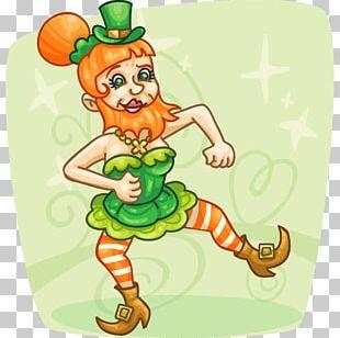 Leprechaun Saint Patrick's Day Legendary Creature PNG