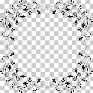 Borders And Frames Flower Paper PNG