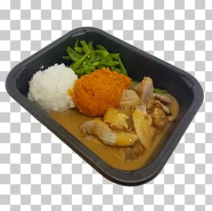 Bento Barbecue Chicken Cooked Rice Chicken As Food PNG