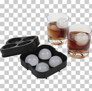 Cocktail Ice Cube Sphere Whiskey PNG