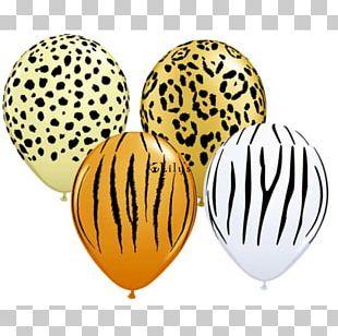 Balloon Amazon.com Safari Party Cheetah PNG