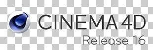 Cinema 4D Logo Brand 4D Film Maxwell Render PNG