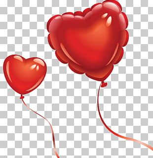 Balloon Drawing Heart Photography PNG