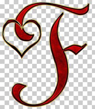 Letter Case Alphabet Valentine's Day PNG