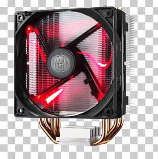 Computer System Cooling Parts Cooler Master Fan Light-emitting Diode Heat Sink PNG
