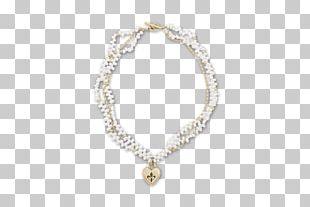 Pearl Jewellery Necklace Locket Bracelet PNG
