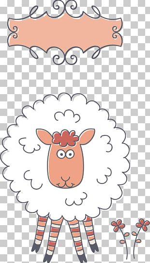 Sheep Birthday Greeting Card E-card PNG
