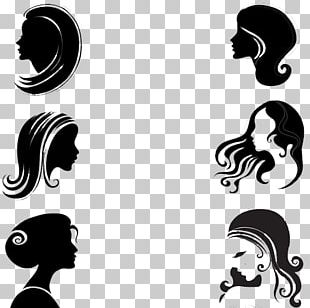 Silhouette Female Face Woman PNG