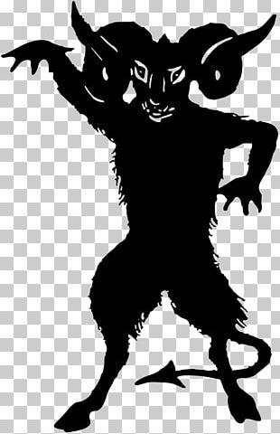 Lucifer Devil Silhouette Demon PNG