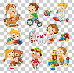 Child Toy Play Cartoon PNG