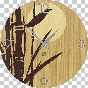 Cuckoo Clock Floor & Grandfather Clocks Tropical Woody Bamboos Quartz Clock PNG