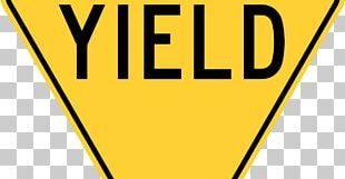 Yield Sign Traffic Sign Stop Sign United States Driving PNG