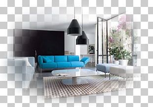 Light Living Room Couch Interior Design Services PNG