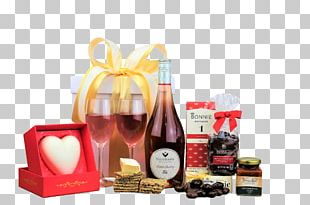 Food Gift Baskets Hamper Chocolate Wine PNG