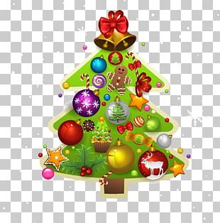 Christmas Tree Christmas Ornament Santa Claus Christmas Decoration PNG