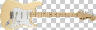 Fender Artist Series Yngwie Malmsteen Stratocaster Electric Guitar Fender Stratocaster Fender Musical Instruments Corporation Fender Yngwie Malmsteen Signature Stratocaster PNG