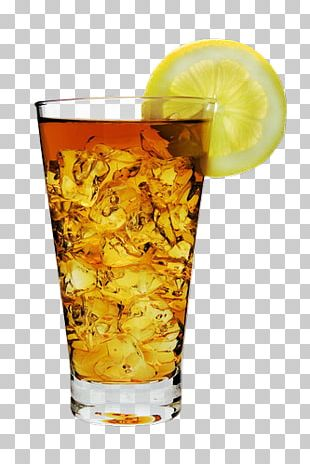 Iced Tea Cocktail Garnish Drink PNG