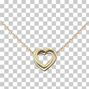 Necklace Jewellery Gold Earring Cartier PNG