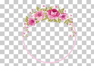 Border Flowers Rose PNG