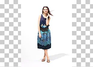 Fashion Skirt Dress Turquoise PNG