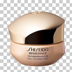 Shiseido Benefiance WrinkleResist24 Intensive Eye Contour Cream Anti-aging Cream PNG