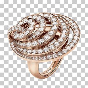 De Grisogono Earring Gold Jewellery PNG