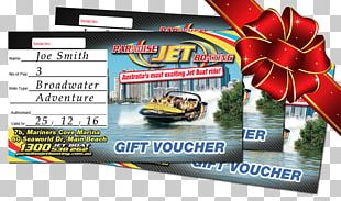 Paradise Jet Boating Gift Card Voucher Discounts And Allowances PNG