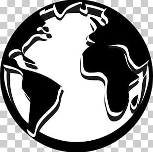 Globe Black And White Line Art Computer Icons PNG