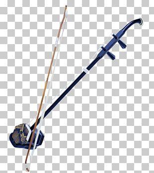Erhu Musical Instrument Violin String Instrument PNG