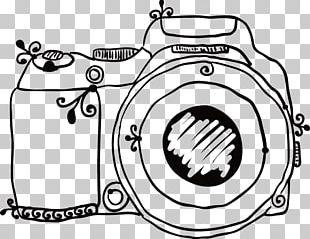 Camera Drawing Sketch PNG