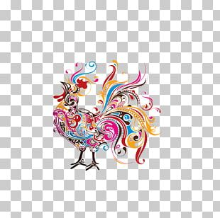 Hamburg Chicken Paper Rooster Drawing PNG