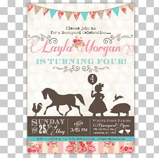 Wedding Invitation Party Birthday Baby Shower Petting Zoo PNG