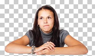 Thought Female Woman Stock Photography PNG