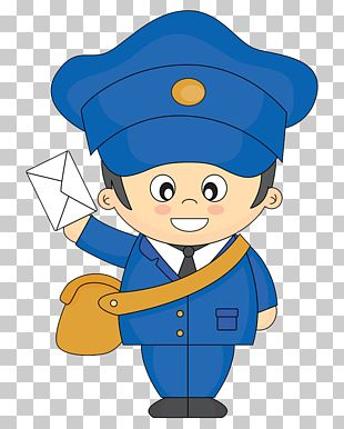 Cartoon Mail Carrier PNG