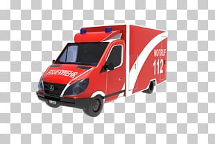 Commercial Vehicle Twinbits 3D Rettungswagen Fire Department Emergency Vehicle PNG