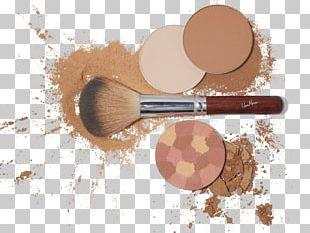 Cosmetics Face Powder Makeup Brush PNG