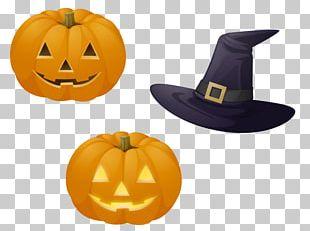 Halloween Pumpkin Euclidean Poster PNG