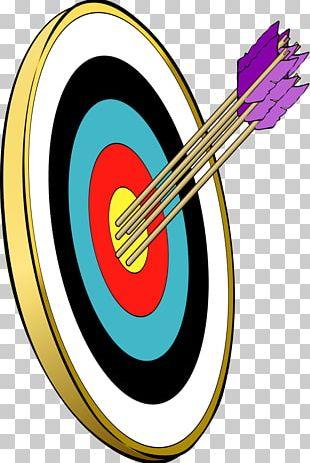 Shooting Target Arrow Target Archery Bullseye PNG