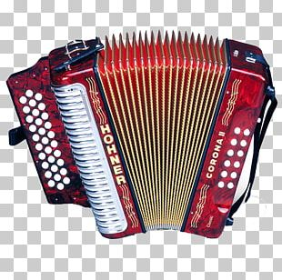 Diatonic Button Accordion Hohner Musical Instruments Vallenato PNG